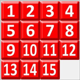 fifteen puzzle optimal solver